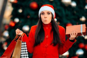 natal: stress compras